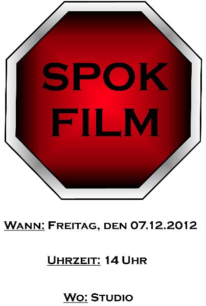 SPOKFILM-Einladung