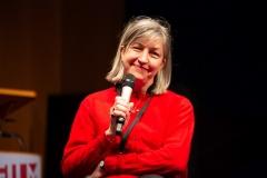 07. Filmeditorin Friederike Anders gab spannende Einblicke in die Arbeit an dokumentarischem Material in verschiedenen Verwertungsformen