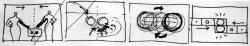 Cartoon in 4 Bildern zu MUTABOR 1