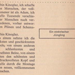 Vertov und Eisenstein - Montageschnipsel