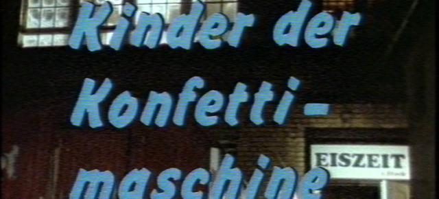 Weitere Vorführungen der Konfettimaschine