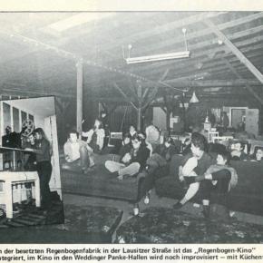 Lichtspiele im Untergrund: Artikel von Alfred Holighaus im tip 23/82